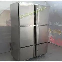 Stainless Steel Restaurant Kitchen Freezer, Electric, Capacity: 500-600 L