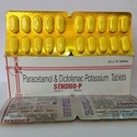 Paracetamol And Diclofenac Potassium Tablet