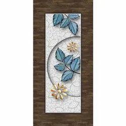 Flower Printed Door Skin Paper