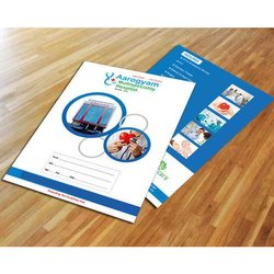 MJM Report File Art Card Folder, For Hospitals, Paper Size: A4