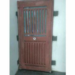 Residential Outdoor Safety Steel Door
