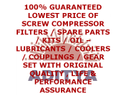 Ingersoll Rand Compressors Oil Filters