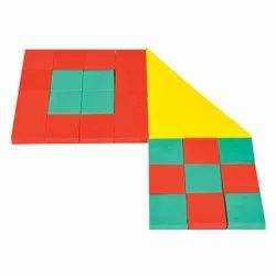 Pythagoras Theorem By Small Squares - Math Kit