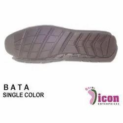 Single Color Rubber Shoe Sole
