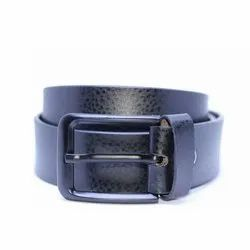 Cheetah Black Leather Belt 1
