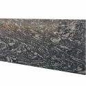 Wavy Black Granite Big Slab