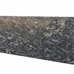 Wavy Black Granite Big Slab for Flooring
