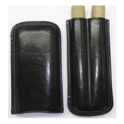 Black Leather Holder