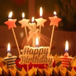 Amazing Birthday Cake Candle At Rs 50 Packet Ashiyana Lucknow Id Personalised Birthday Cards Veneteletsinfo