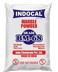 Indocal BM-68 Coated Ground Calcium Carbonate, Packaging Type: PP Bag, Packaging Size: 25 Kg