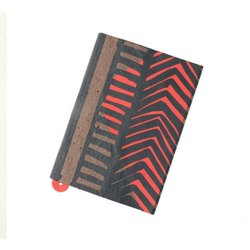 Handmade Screen Printed Book Covers With 1 Notebook