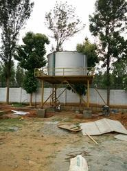 Overhead Water Storage Tank