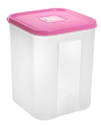 Square Plastic Container 3500 ml