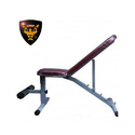 Gamma Fitness Adjustable Dumbbell Fly Weight Lifting Bench