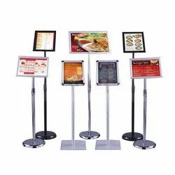 Menu Poster Display Stand