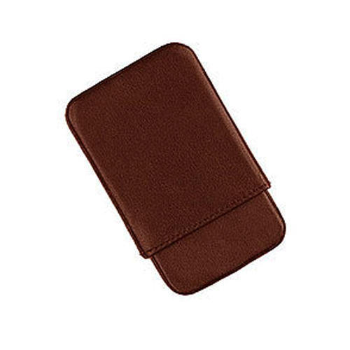 Leather Slide Open Card Case