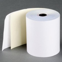 Plain,Printed (available) White Plain POS Thermal Paper Rolls, GSM: 48-50 GSM