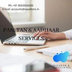 3 Days Offline PAN, TAN & AADHAAR SERVICES