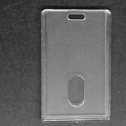LC Vertical Plastic ID Card Holder CH 58
