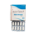 Macvir-800 Aciclovir Tablets Ip, Packaging Type: Packet