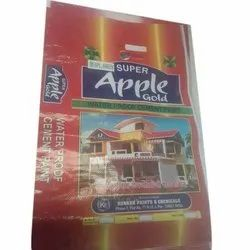 Super Apple Gold Waterproof Cement Paint, Packaging Type: Bag