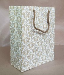 White Duplex Board Paper Bag, Easy To Carry, Capacity: 1kg