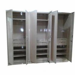 Steel Wardrobe, Height: 5 to 7 feet