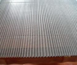 Foldable, Hanging Domestic Usage Pleated Mesh Bundles, For Mosquitoes Protection, Packaging Type: Roll