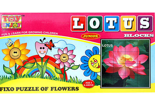 Toyenjoy Lotus Block Junior Puzzle Game At Rs 120 Piece Cartoon