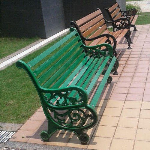 Cast Iron Outdoor Park Benches