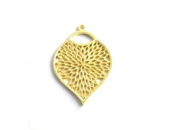 Gold Plated Metal Charm
