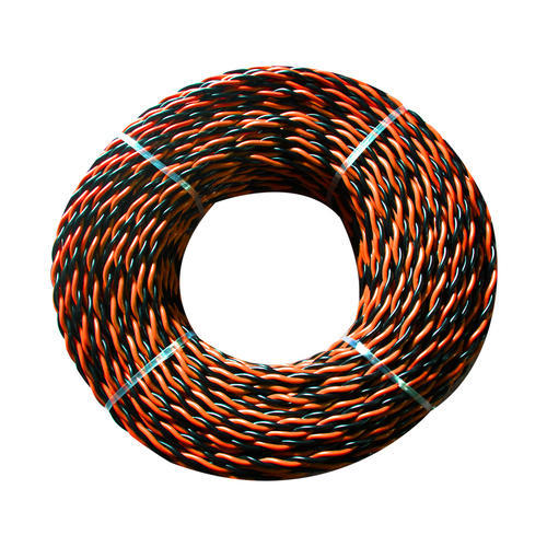 Flexible Twin Twisted Cable at Rs 10 /meter   Twisted Wire   ID ...