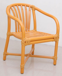 Yellow 635mm L X 570mm D X 820mm H Jupiter Chair Without Cushion