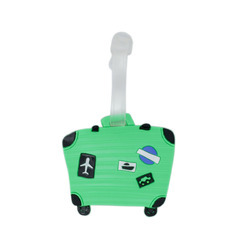 Luggage Tag Suitcase - Green (6LNT316)