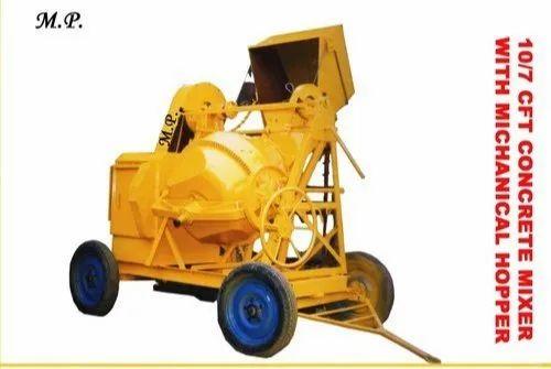 Cement Concrete Mixer Machine - 5/3 Concrete mixer machine