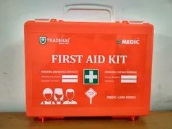 Wall Mount Filled First Aid Box