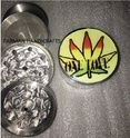 Leaf Sticker Design Smoking Grinders