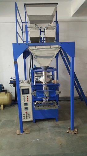 Automatic Snacks Packaging Machine, Capacity: 500-1000 Pouch/hr