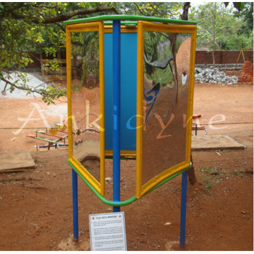 Scientific Park Equipments Play With Mirrors