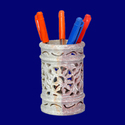 High Quality Handicraft Soapstone Pen Stand