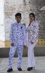 Men's 2-Piece Multicolor Suit