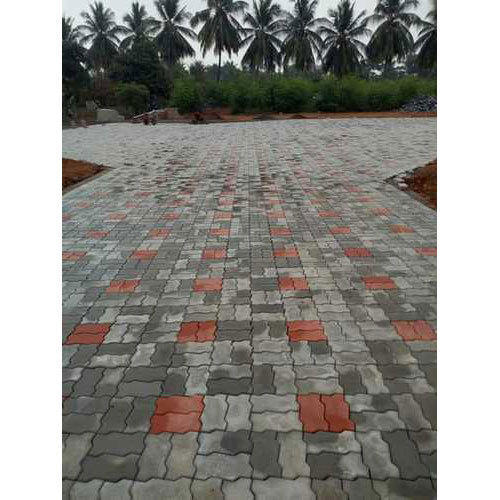 Zigzag Paver Block 80mm Thick, For Pavement, Rs 50 \/square feet  ID: 19917629573
