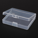 Transparent Plastic Jewelry Box