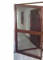 Brown Wooden Net Door