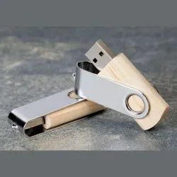Wooden Swivel USB Pendrive