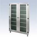 Polished 14 Rack Stainless Steel Cabinet For Industrial