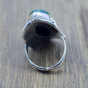 925 STERLING SILVER MALACHITE GEMSTONE HANDMADE RING JEWELRY WR-5198