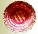 "Ethnic Round Ultra Muri Basket, Size/dimension: 9"", 12"""