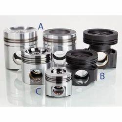 Aluminum Alloys Cylindrical Piston Accessories