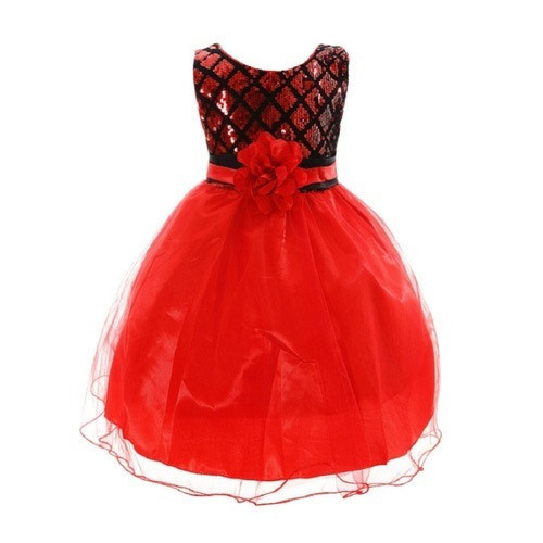 Kids Red Gown at Rs 800 /piece | Bachchon Ka Gown, किड्स ...